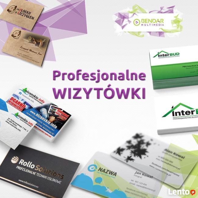 Profesjonalne wizytówki - druk z projektem - Wizytówki z usz