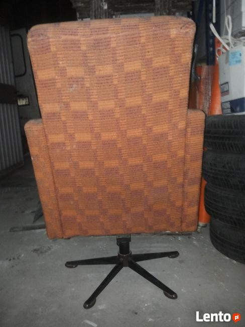 Fotel Klubowy Prl Loft Meble Prlvintage Fotel Obrotowy