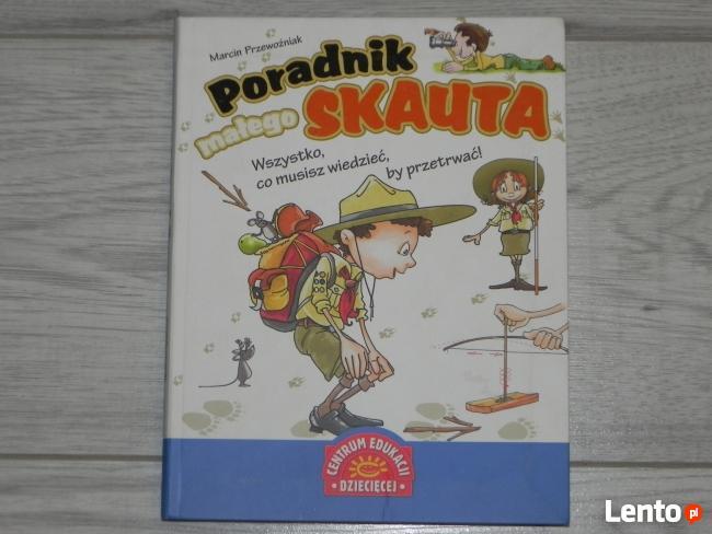 Sprzedam książkę Poradnik małego Skauta (Super książka )
