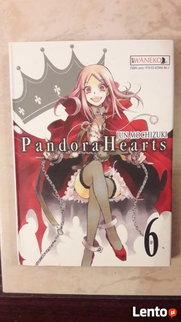 Sprzedam komiksy Manga z serii Pandora Hearts.