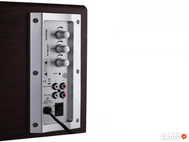 Głośniki TRACER 2.1 Supreme Głośniki Komputerowe