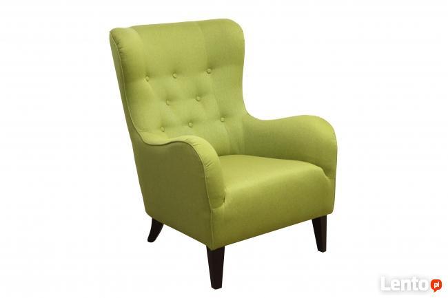 oferuje fotel JULIA w pepitka +ławeczka