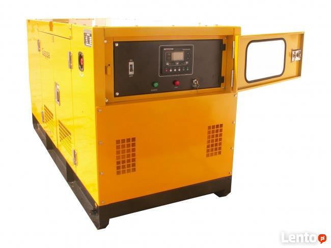 Agregat prądotwórczy generator 30 kW, AVR/ATS/SZR,