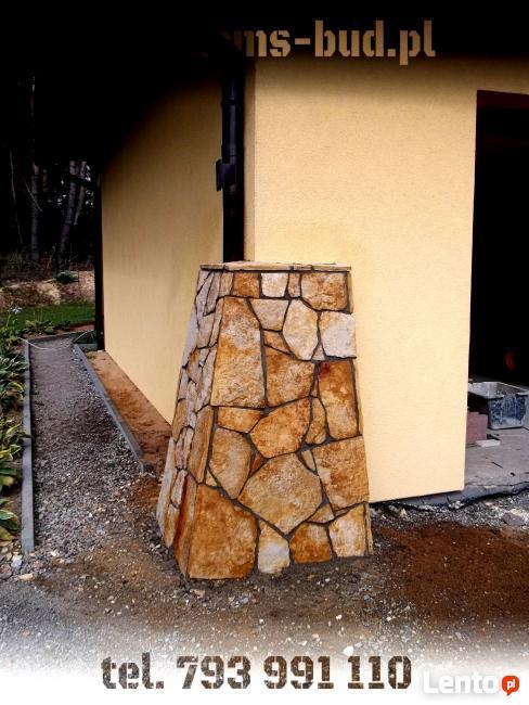 Elewacje kamienne i ogrodzenia - Żyrardów