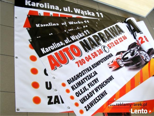 Reklama świetlna Projektowanie reklam banery litery Mińsk