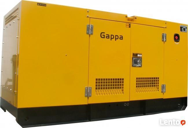 Agregat prądotwórczy 120 kW/150 KVA, ATS/SZR, zabudowany!