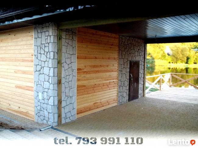 Elewacje i ogrodzenia kamienne z piaskowca - Pruszków