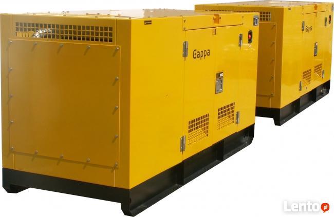 Nowość Agregat prądotwórczy 40 kW zabudowany z ATS/SZR, dostępny Lublin JP43