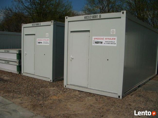 kontenery biurowe - wynajem