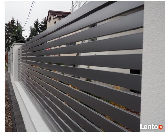 Przęsło ogrodzeniowe P12b ceownik 70x10 ocynk+kolor