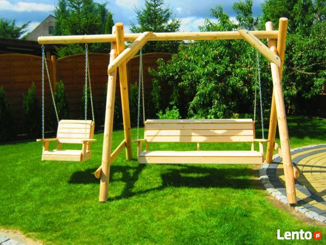 Meble ogrodowe, drewniane, z drewna.Transport 150 zł