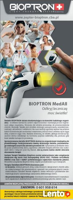 MedAll, najnowsza lampa Bioptron