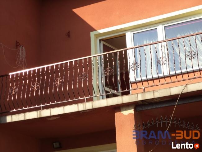 Balustrada zewnętrzna + miniowanie i malowanie natryskowe