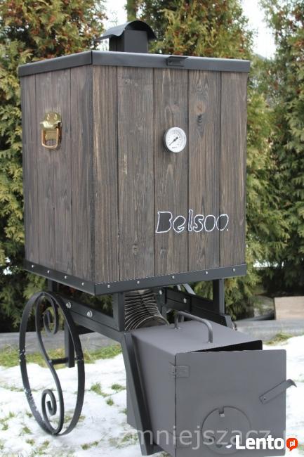 wędzarnia ogrodowa na kółkach,mobilna ,przenośna