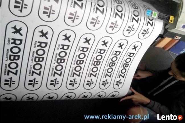 Ulotki wizytówki plakat naklejki dobra tania Drukarnia Mińsk