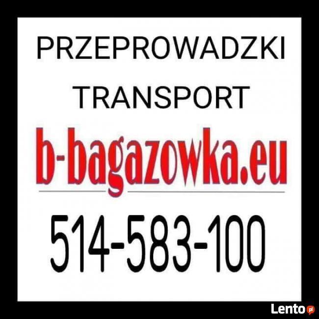 Bagażówka Warszawa Transport Przeprowadzki taxi tanio.