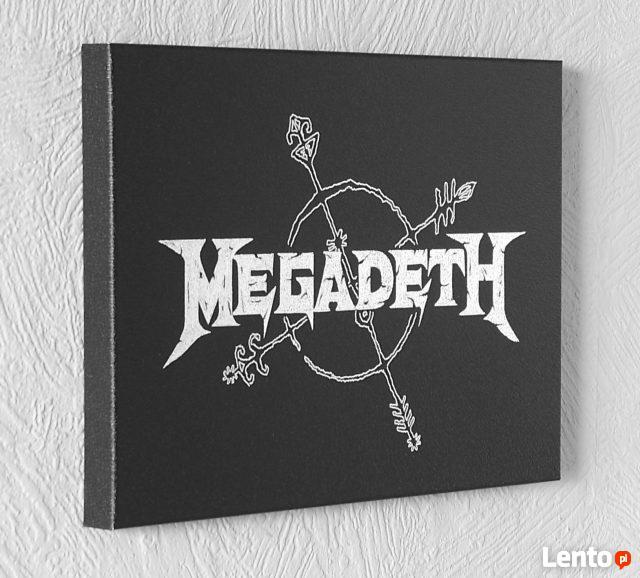 MEGADETH - Obraz na blasze... GRAWERKA