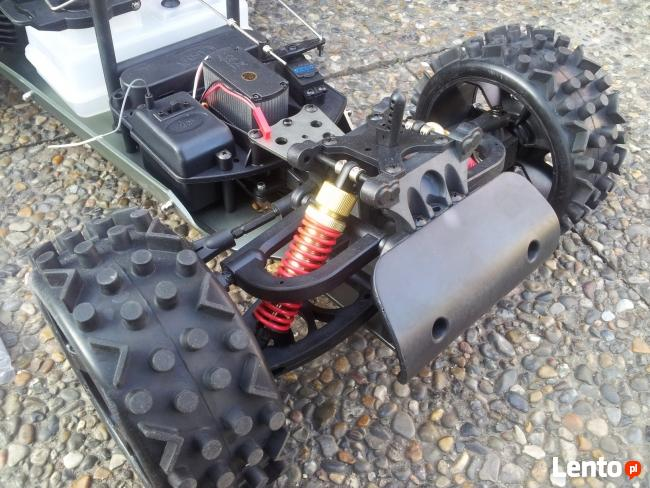 Samochód zdalnie sterowany benzynowy buggy 2WD 2,4GHz