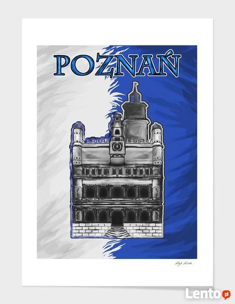 Nowoczesny obraz grafika 2D MusicNutoon Kraków