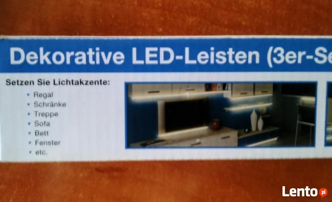 Dekoracyjne listwy LED