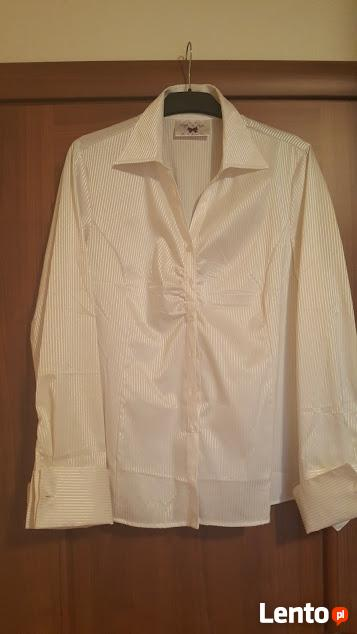 Wizytowa biała koszula , kupiona w Tchibo
