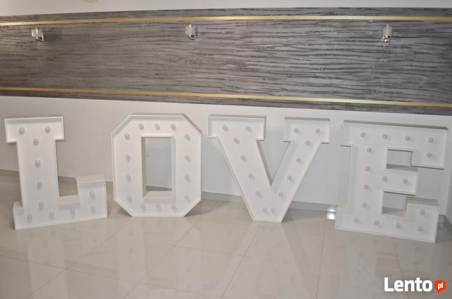 HIT sezonu - wielki napis LOVE 100 cm, super wrażenie!