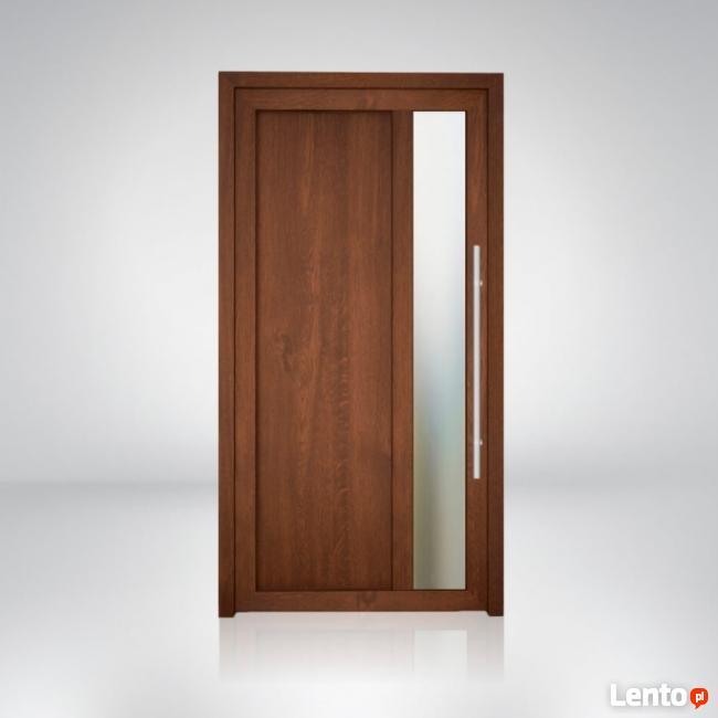 Drzwi zewnętrzne PVC firmy Pagen