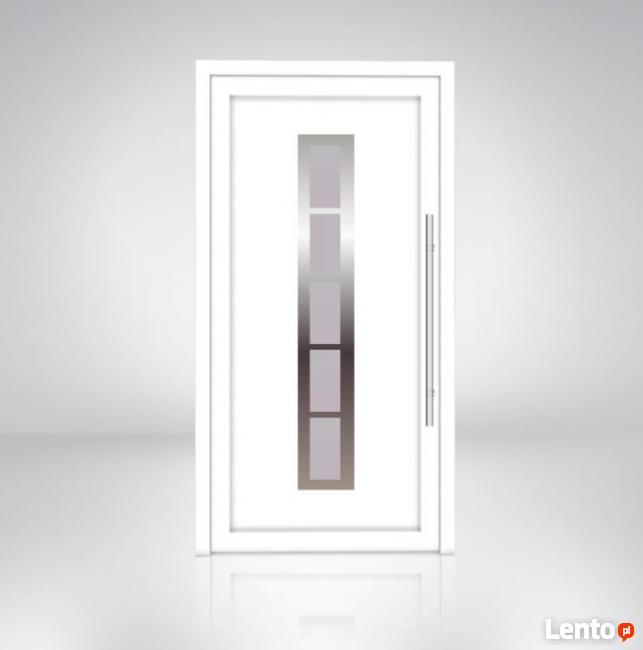 Drzwi PVC zewnętrzne firmy Pagen