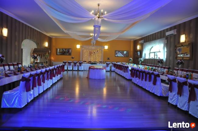 Dekoracja sal weselnych, kosciołów