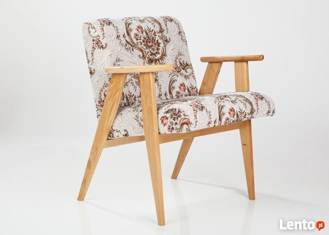 Fotel PRL, klubowy,366 renowacja