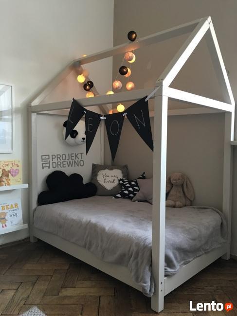 HIT! House Bed w stylu skandynawskim