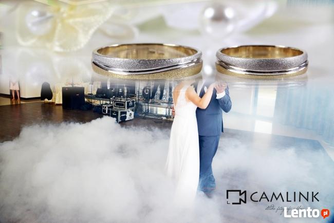Ciężki dym taniec w chmurach