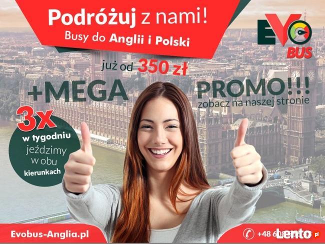 Tanie busy do Anglii i Polski