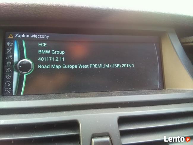 BMW mapy 2018 cic f01 f10 e90 e60 f07 menu Pl