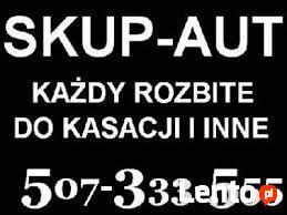 Skup Aut Całe i Uszkodzone Warszawa Gotówka 507-333-555