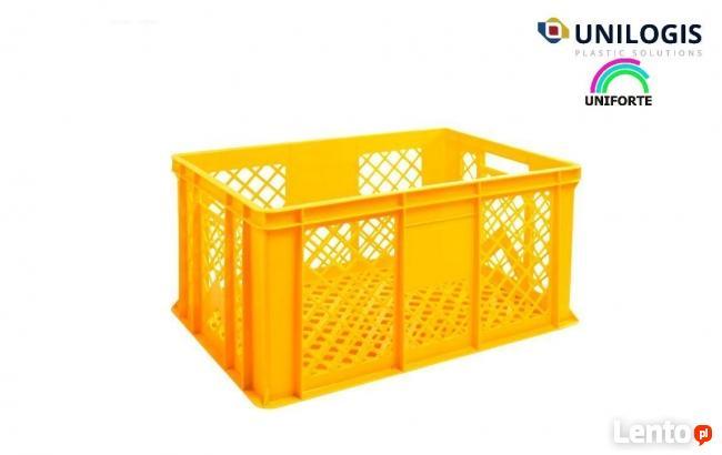 Skrzynki plastikowe na pieczywo 30 kg 60x40x30 cm