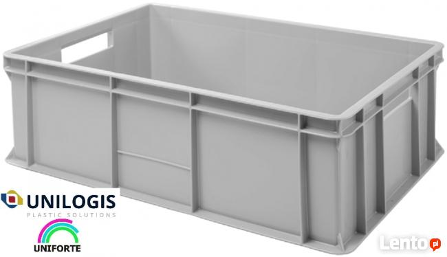 Pojemniki skrzynki plastikowe magazynowe transportowe K-200