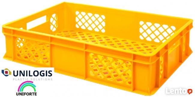 Skrzynki plastikowe na pieczywo 15 kg 60x40x14 cm