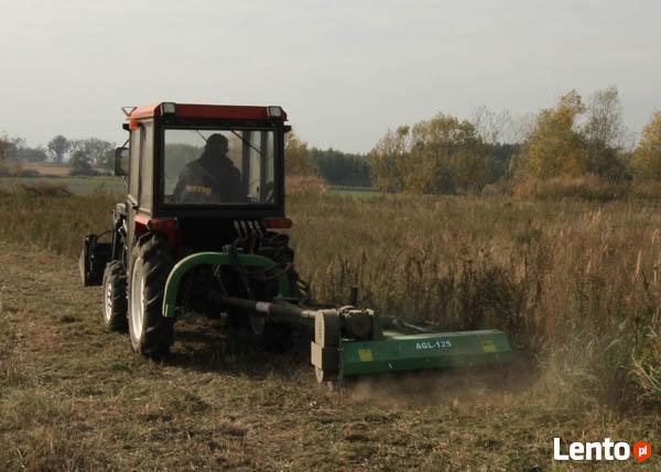 glebogryzarka miniciągnik prace ziemne
