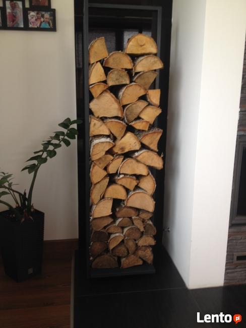 Stojak na drewno kominkowe