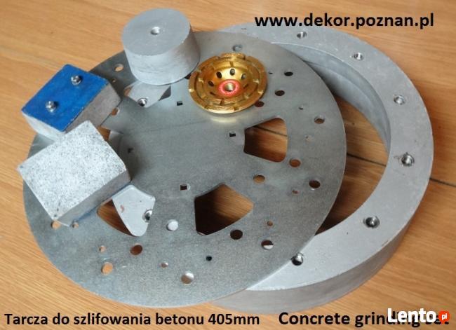 Szlifierka elektryczna do betonu Dekor