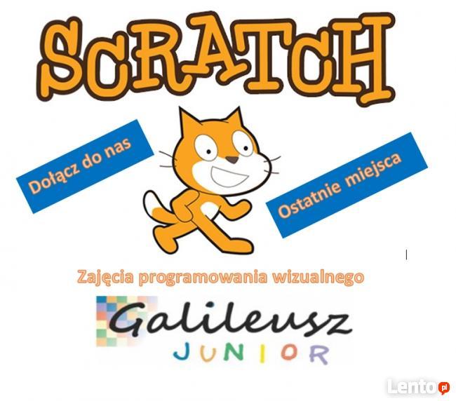Kursy Scratch dla młodszych i starszych.