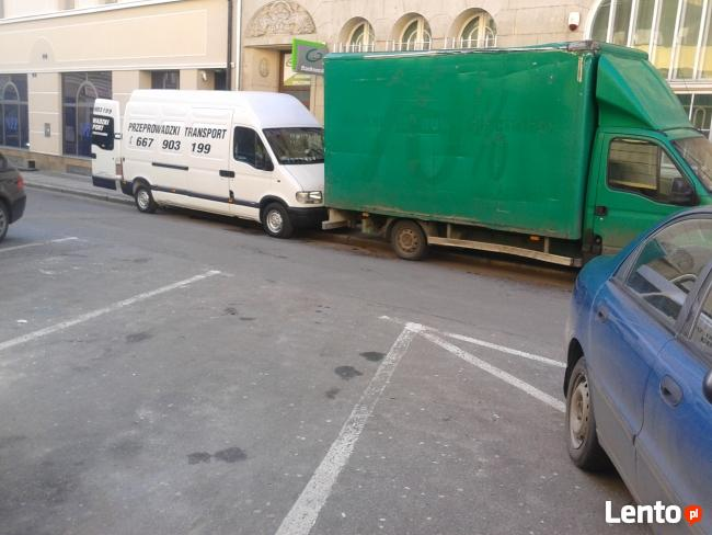 Usługi transportowe Przeprowadzki Auta Duże Małe Kraj Europa