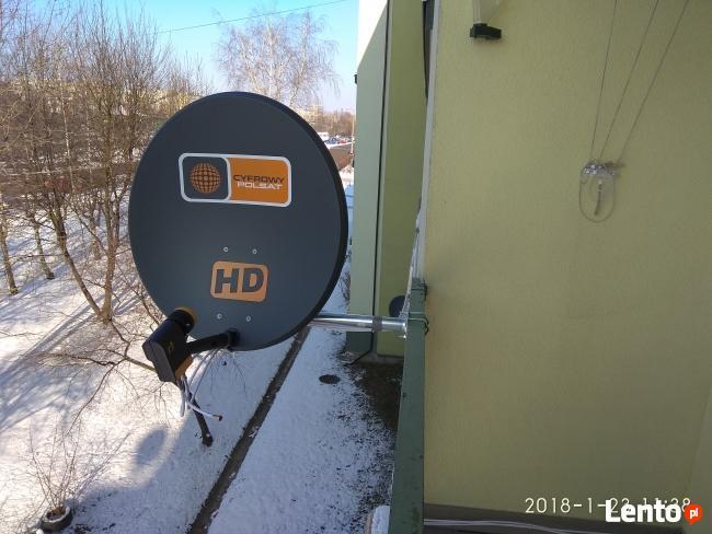 MONTAZ DVB-T TV-SAT LTE PODWIESZ.TV BOCHNIA BRZESKO