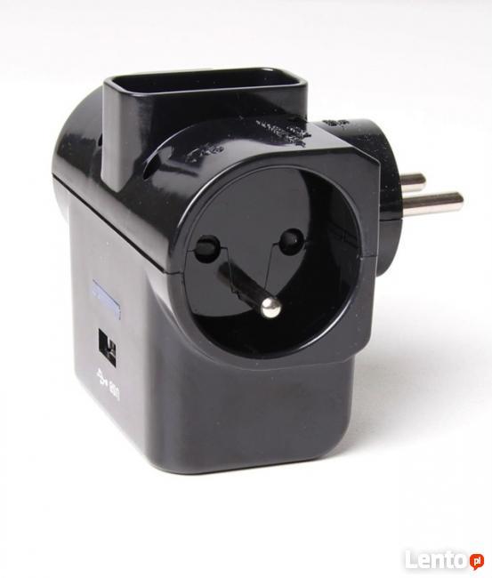 Rozgałęziacz elektryczny ładowarka iPhone iPod ładowarka USB
