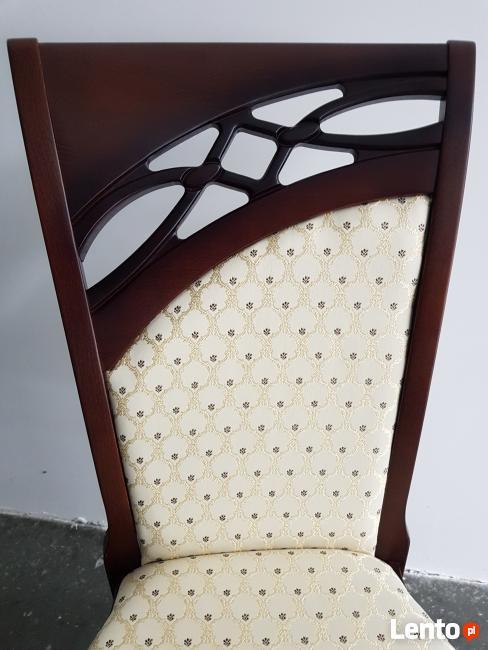 Krzesło eleganckie tapicerowane do salonu restauracji Nowe