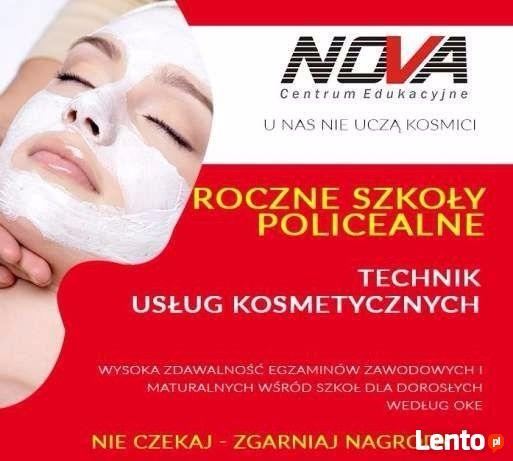 Technik Usług Kosmetycznych - czesne 0zł