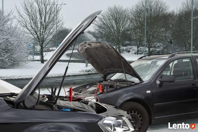 Odpalanie samochodu 12V 24V uruchomienie odpalenie z kabli