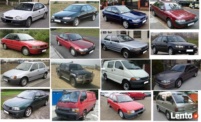 Kupię auta marki TOYOTA, Roczniki od 1986 do 2001