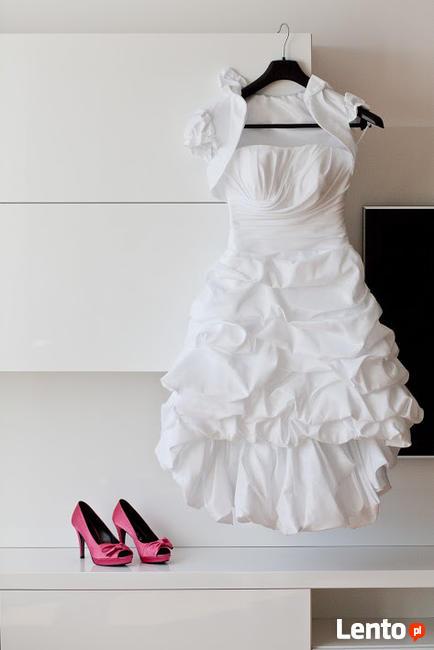 suknia ślubna 2w1 biała